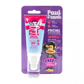 PAUL FRANK FACIAL SUNSCREEN SERUM, ALL IN ONE  BRIGHTENING SPF50 PA++++