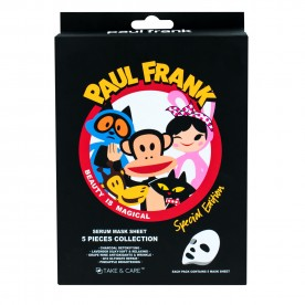 TAKE & CARE PAUL FRANK MASKSHEET 5 PIECES COLLECTION