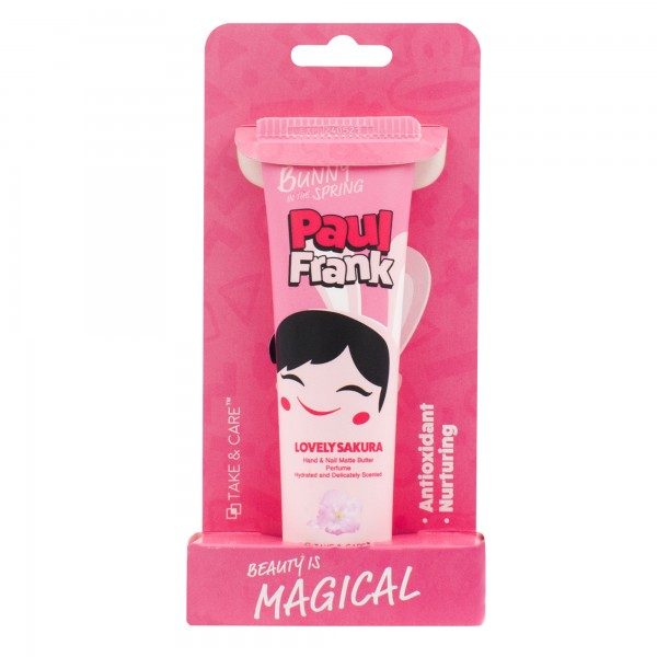 TAKE & CARE PAUL FRANK LOVELY SAKURA HAND & NAIL MATTE BUTTER