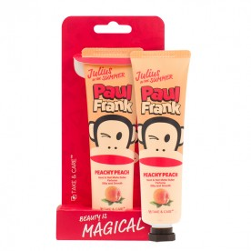 TAKE & CARE PAUL FRANK PEACHY PEACH HAND & NAIL MATTE BUTTER