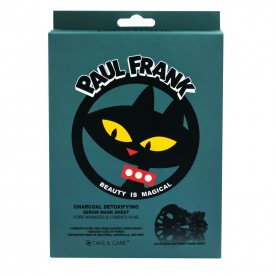 TAKE & CARE PAUL FRANK CHARCOAL DETOXIFYING SERUM MASK SHEET