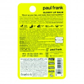 TAKE & CARE PAUL FRANK GLOSSY LIP BALM