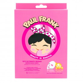TAKE & CARE PAUL FRANK Q10 ULTIMATE REPAIR SERUM MASK SHEET