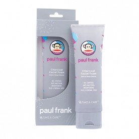 TAKE & CARE PAUL FRANK CHARCOAL FACIAL FOAM